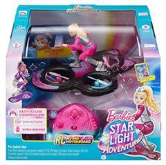 Caja de Barbie - Hoverboard, aventura en el espacio